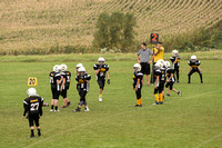 Byron 5th grade Football vs Waseca  24-Sep-16